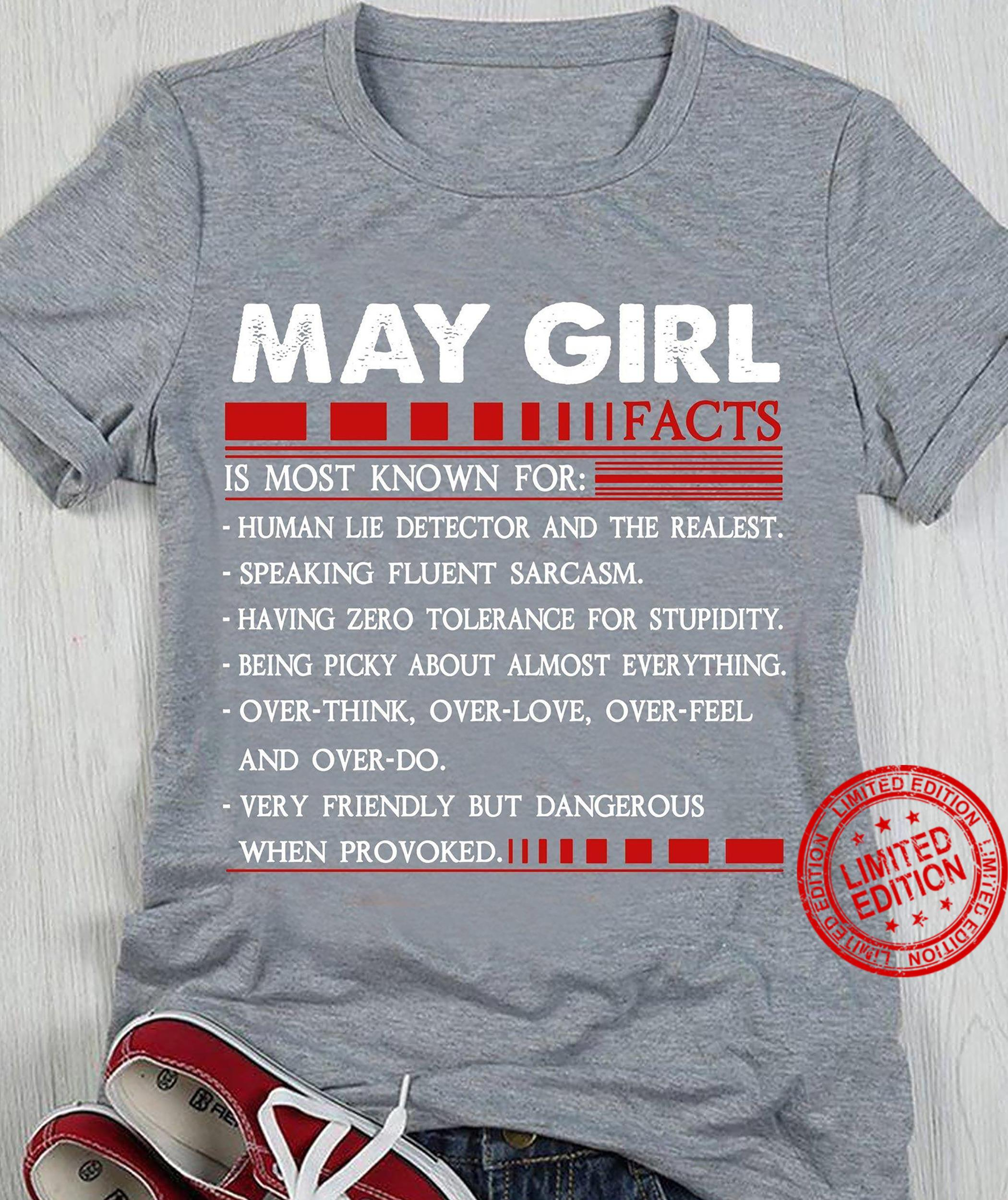 May Girl Facts Is Most Known For T-Shirt