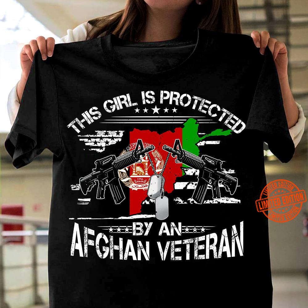 This Girl Is Protected By An Afghan Veteran Shirt