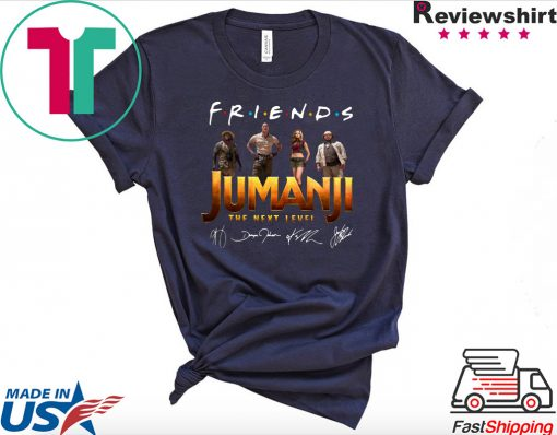 Friends Jumanji The Next Level Signatures Shirt