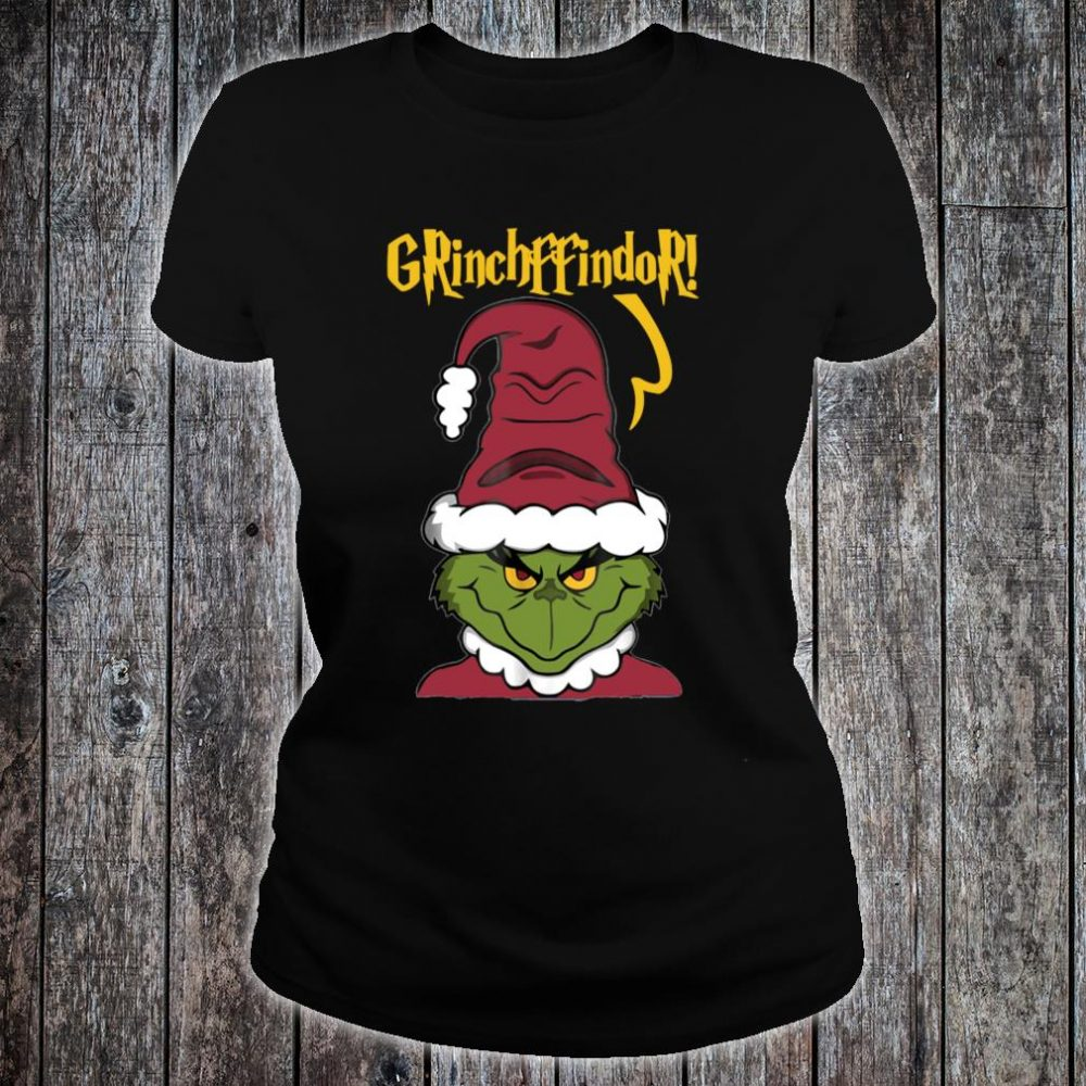 Grinch Ffindor Merry Christmas Shirt