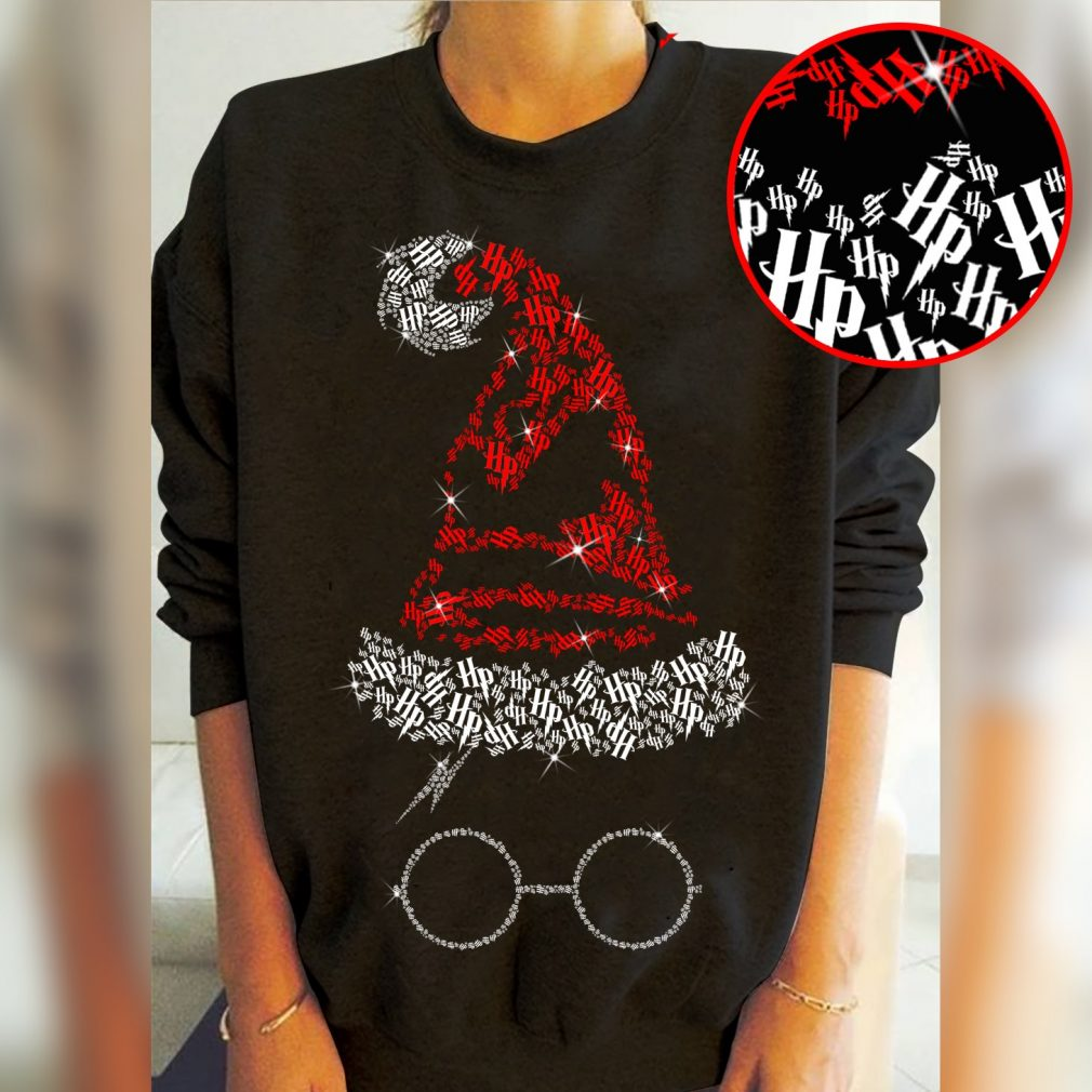 Harry Potter Witch Hat And Glasses Shirt