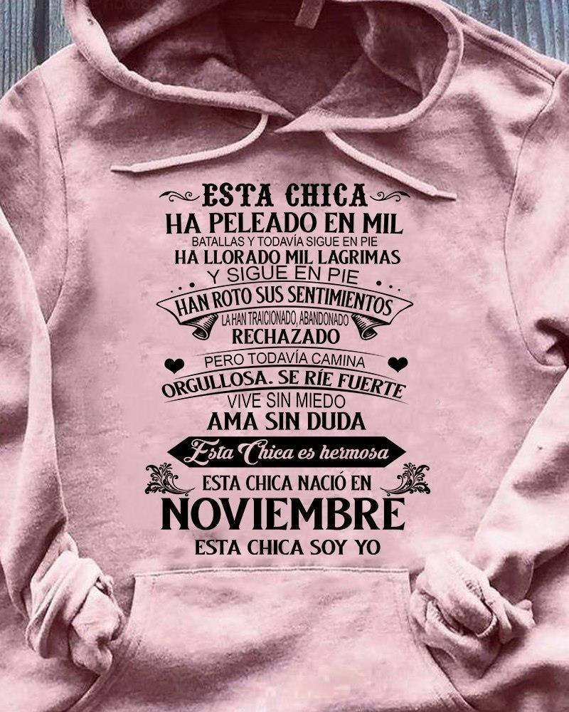 Noviembre Esta Chica Soy Yo Shirt