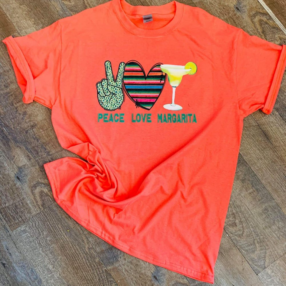 Peace Love And Margarita Shirt