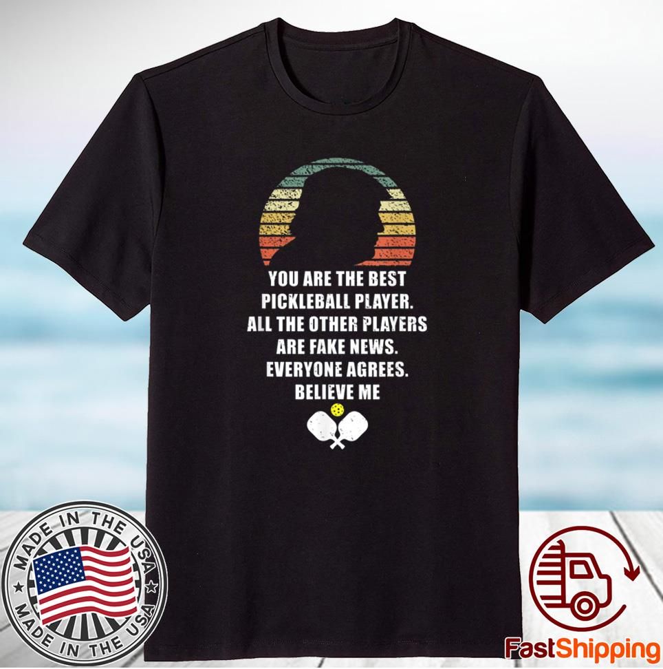 Pickleball Legend Trump Quote Vintage Funny Shirt