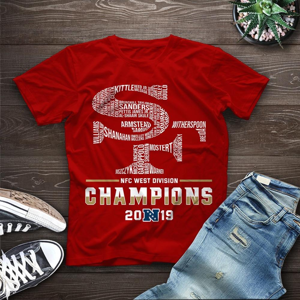 SF NFC West Division Champions 2019 Shirt