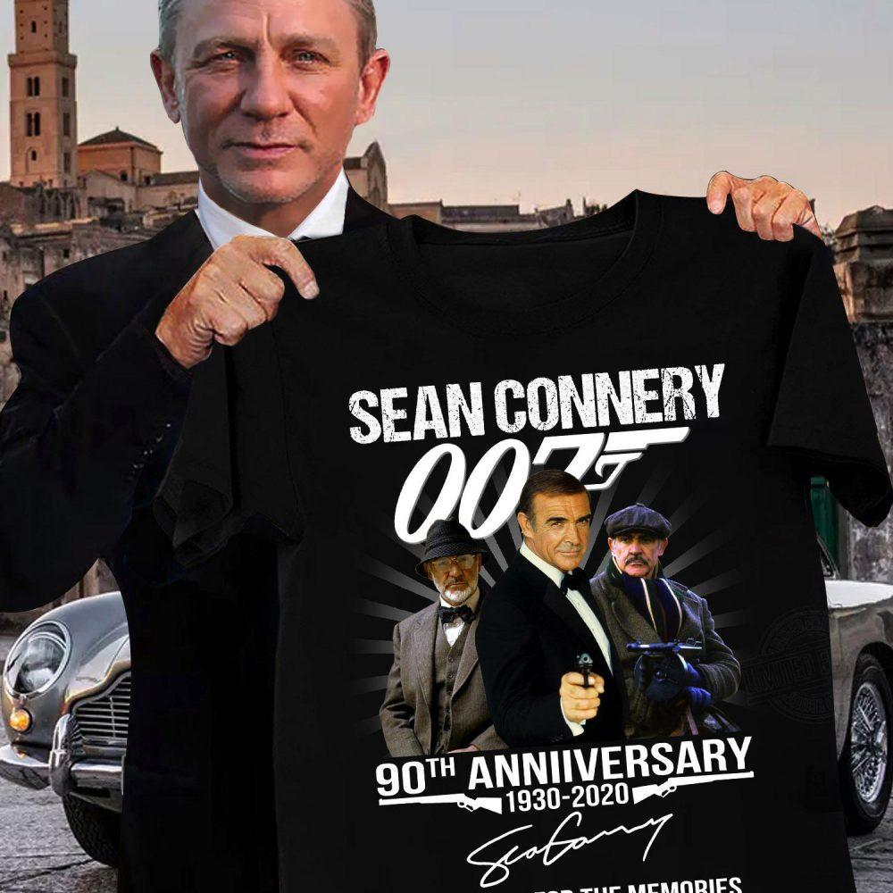 Sean Counnery 90th Anniversary Shirt