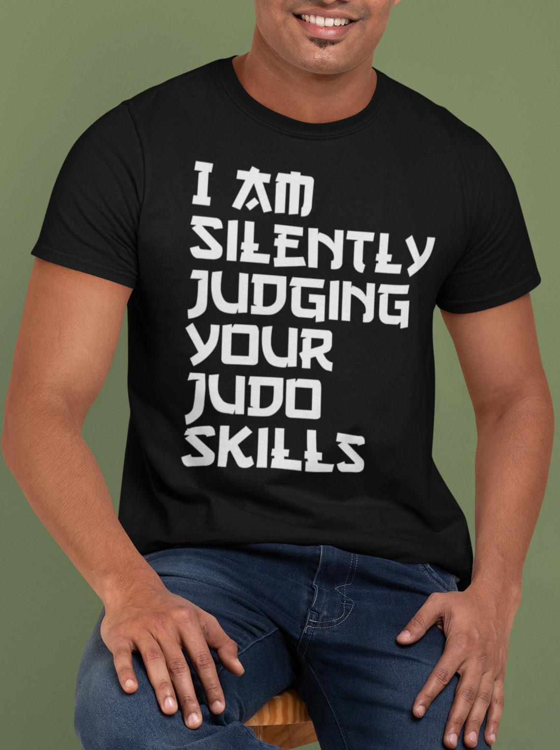 Silently Judging Your Judo Shirt