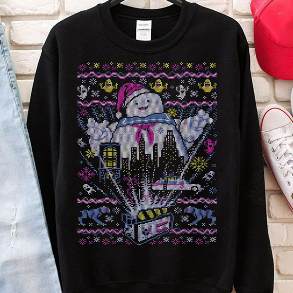 Snowman In Christmas Season Shirt