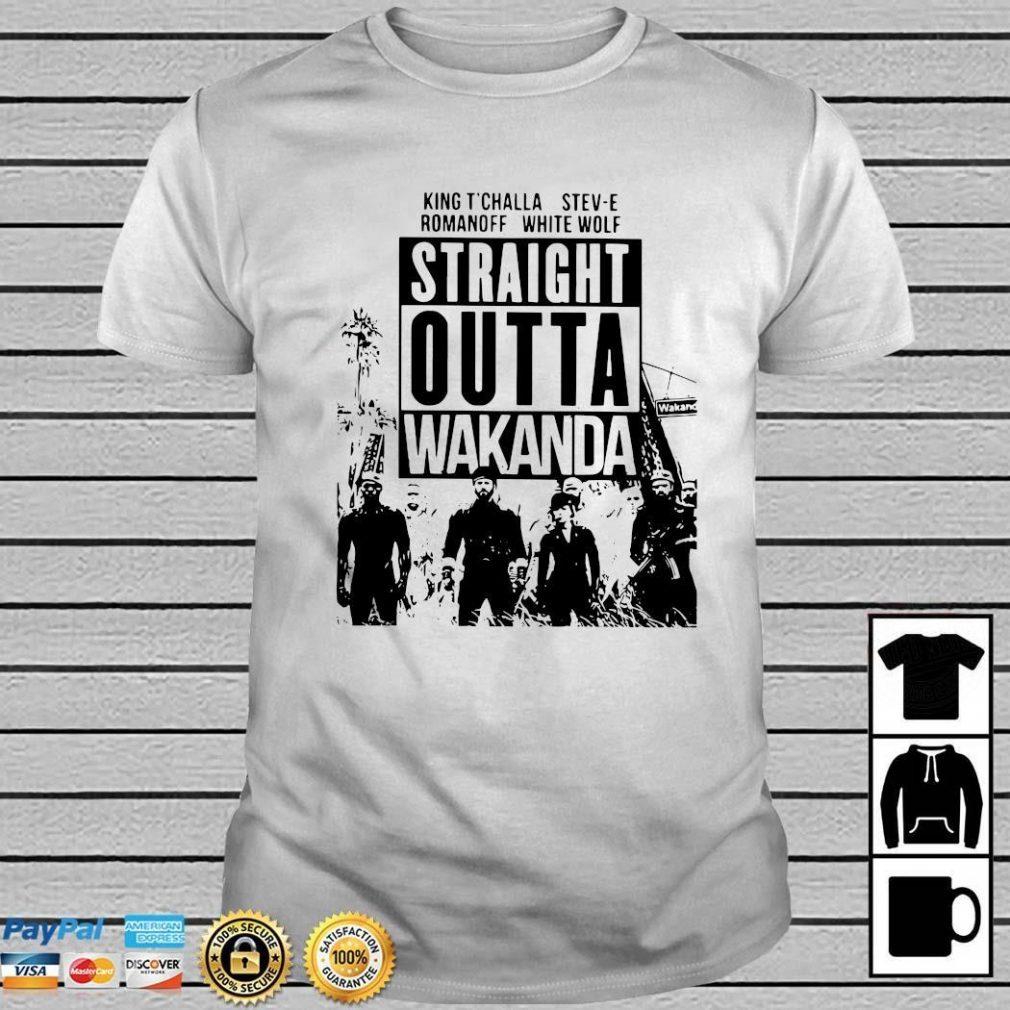 Straight Outta Wakanda Shirt