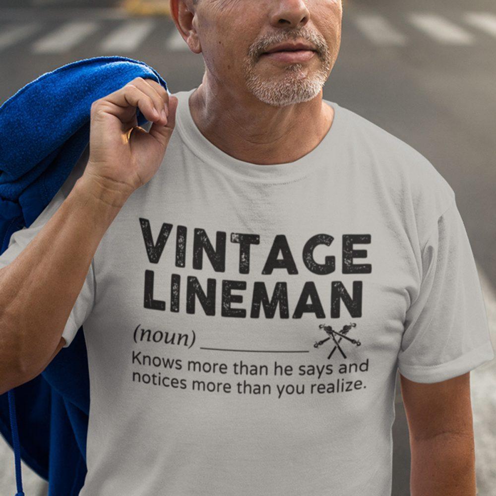 Vintage Lineman Shirt
